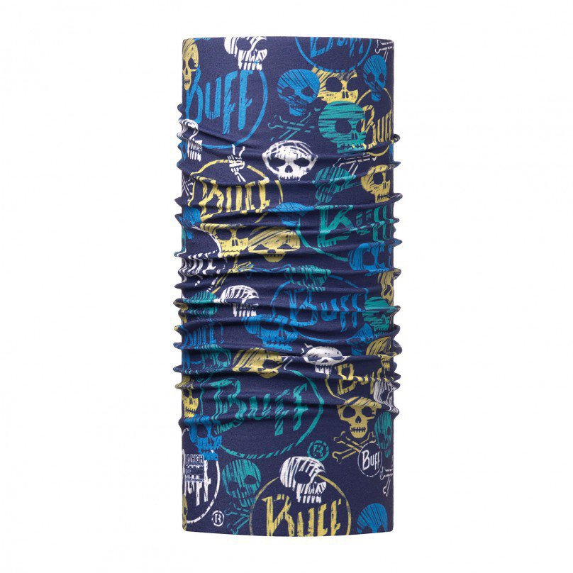 Бандана Buff Funny Skulls Dark Navy High UV