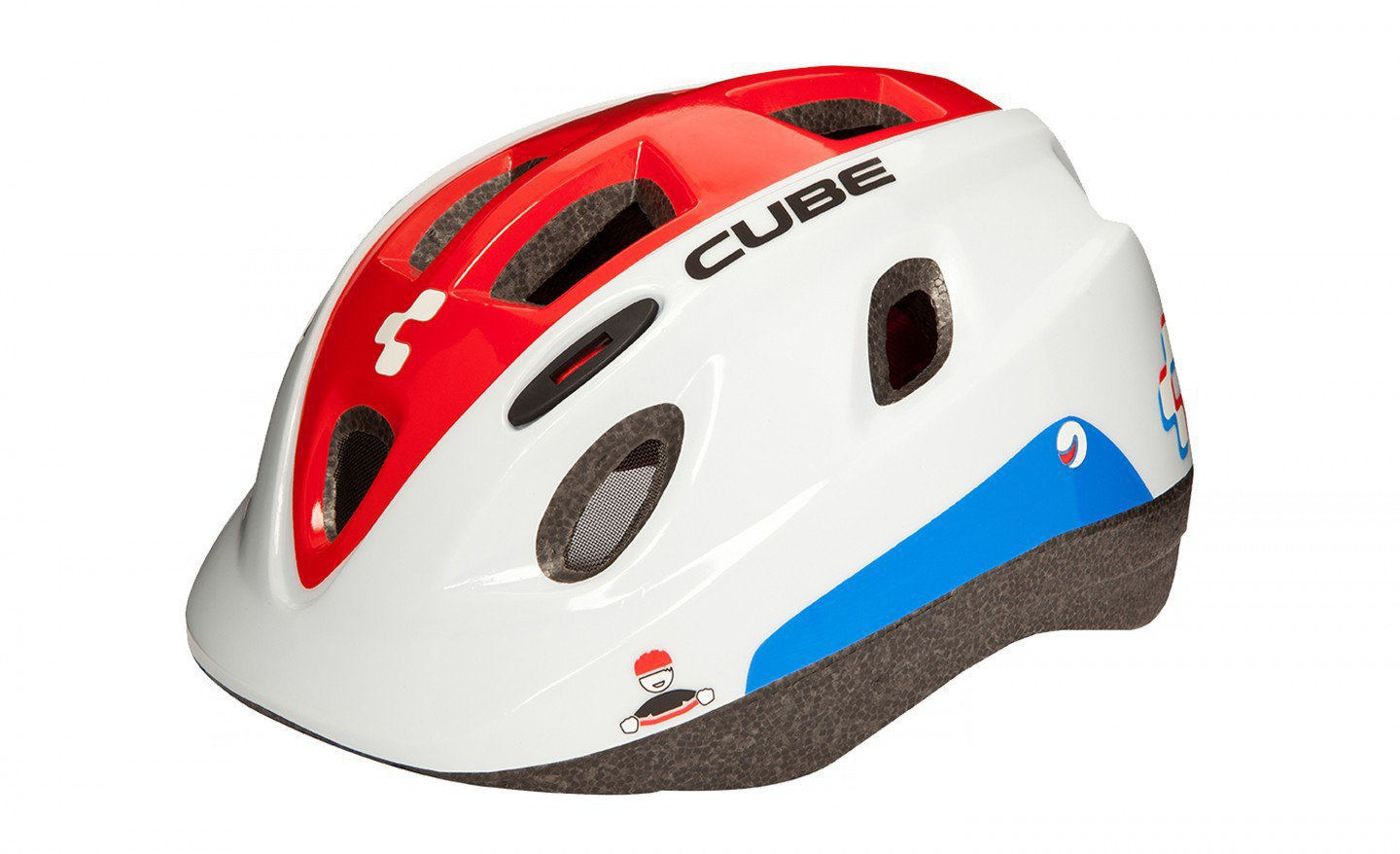 Шлем CUBE Helm PRO JUNIOR Teamline; р-р S(50-54)