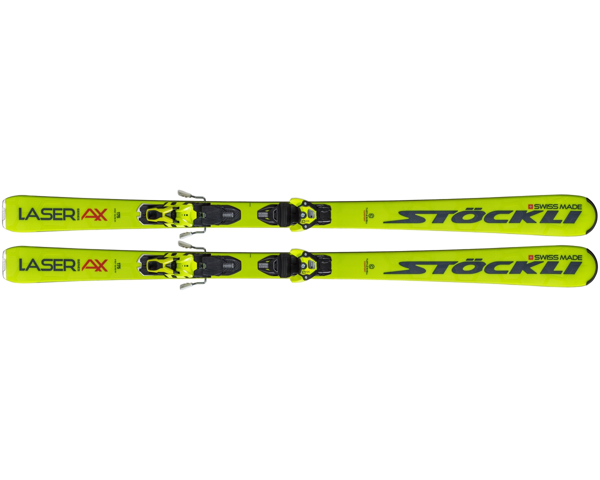 Stockli Laser AX + XM 13 Yellow/Blue