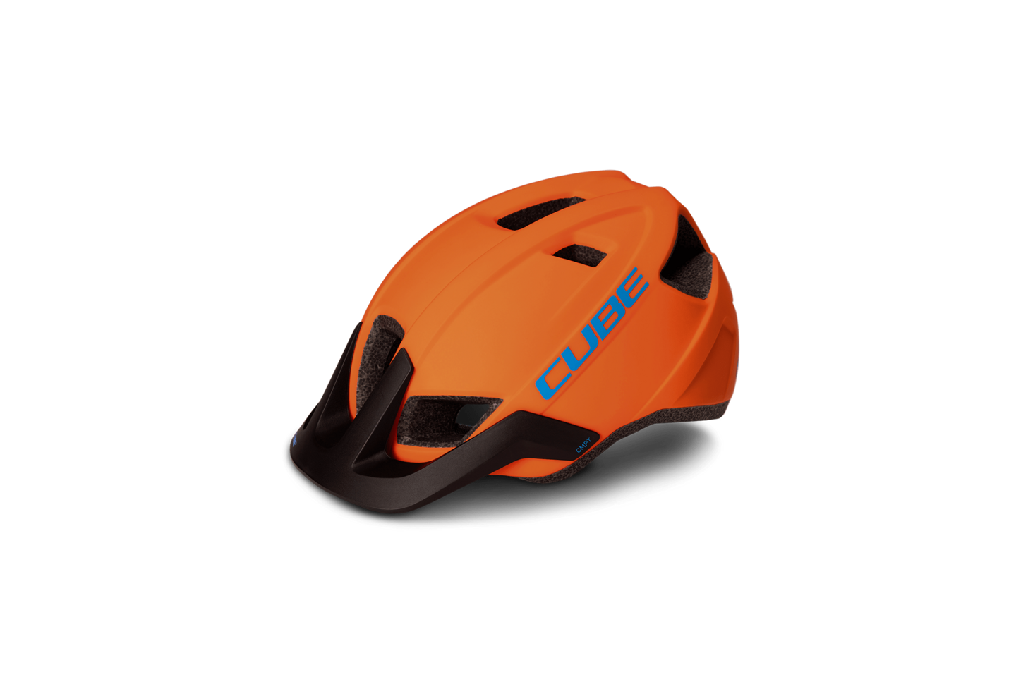 Шлем CUBE Helm CMPT orange'n'blue