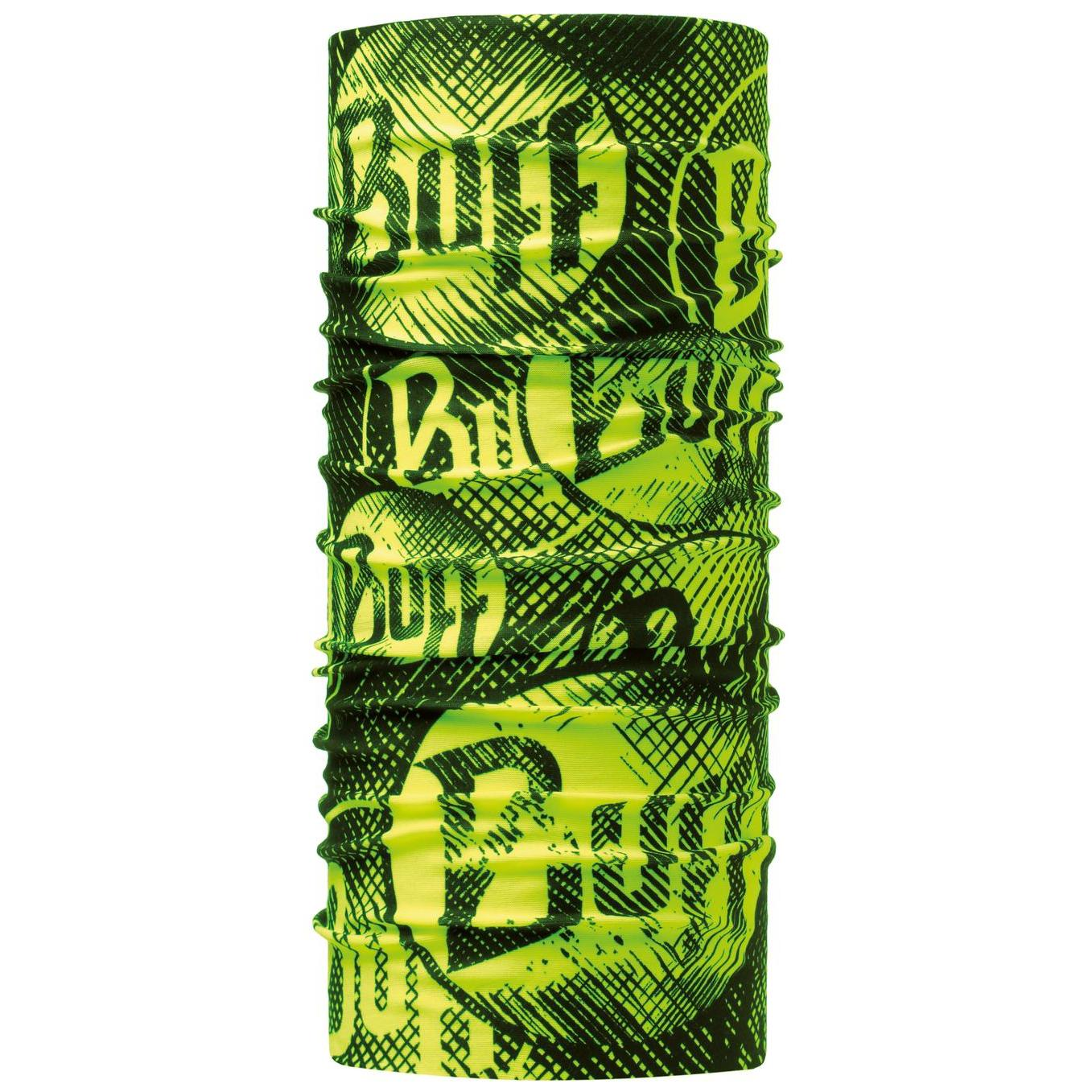 Бандана Buff ORIGINAL LOG US YELLOW FLUOR